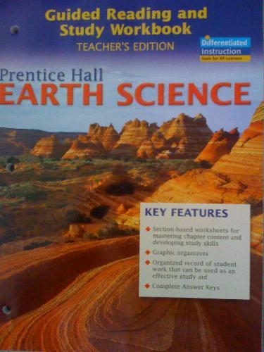 prentice hall earth science workbook answer key pdf