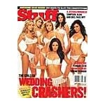 Stuff Magazine August, 2005- The Girls of the Wedding Crashers cover and pictorial + Jessica Simpson, Jessica Alba, and Jessica Biel book cover