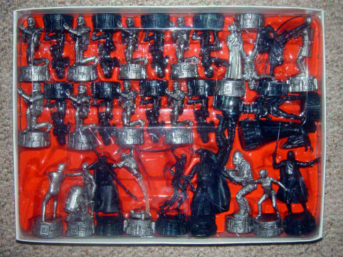 Customer Image Gallery for Star Wars Saga Edition Chess Set