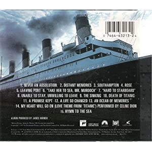 titanic music from the motion picture james horner