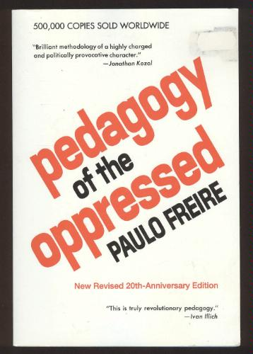 paulo freires pedagogy of the oppressed literature essay Paulo freire pedagogy of the oppressed  pedagogy of the oppressed essay topics paulo freire pedagogy of the oppressed 54-page comprehensive study guide features 4 chapter summaries and 5 sections of expert analysis written by a literary scholar and librarian with a degree from harvard access full summary study guide navigation.