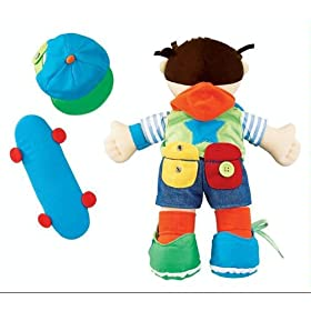 International Playthings Learn-To-Dress Jake