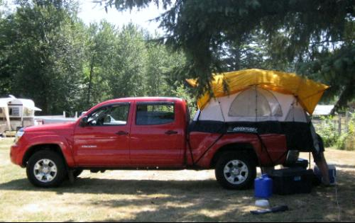 truck bed tents for 2012 toyota tacoma rightline gear html autos post. Black Bedroom Furniture Sets. Home Design Ideas