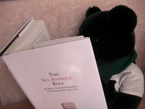 The No Asshole Rule: Building a Civilized Workplace and Surviving One That Isn't: Robert I. Sutton: 9780446526562: Amazon.com: Books