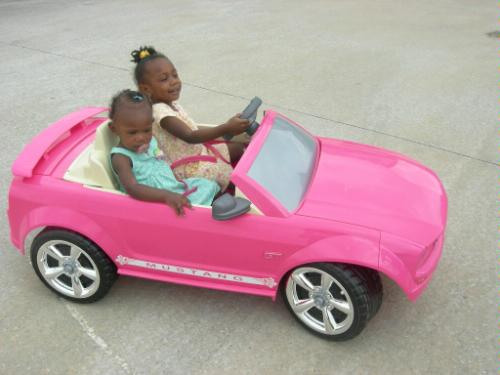 Power wheels barbie ford mustang pink toys games html for Motorized barbie convertible car