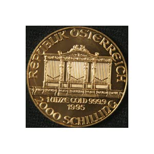 Austria - 1995 Philharmoniker 1 Oz. Gold Coin