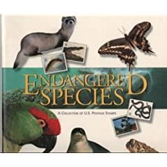 1423810ae7a0b7bd2dbc9110.L. AA240  Endangered Species: A Collection of U.S. Postage Stamps Including Set of 15 USPS Endangered Species Stamp Sheet Sealed (Endangered Species, A Collection of US Postage Stamps) (Paperback)