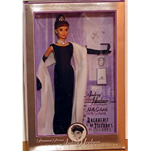 "1998 Audrey Hepburn ""Breakfast at Tiffanys"" Barbie Doll"