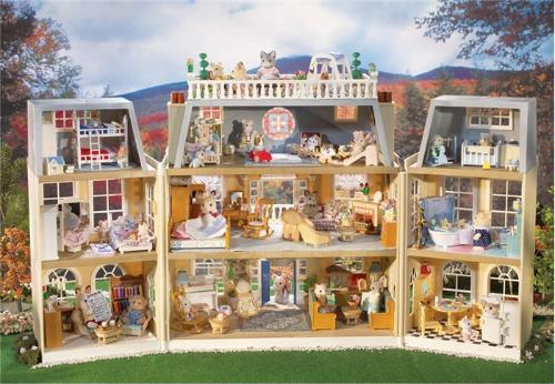 Calico critters cloverleaf manor toys games - Magasin maison de famille ...