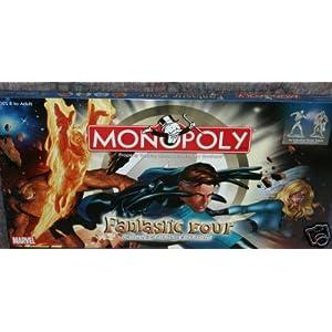 Fantastic Four Monopoly!