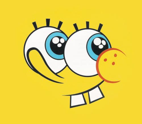 Spongebob Face Yellow Spongebob