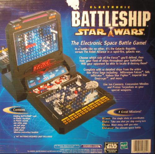 Star Wars Toy Game : Amazon battleship electronic star wars edition toys