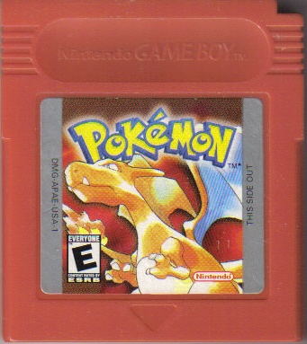 Pokemon Red Cartridge Sticker Images | Pokemon Images