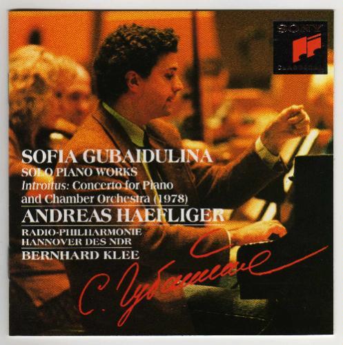 Sofia Gubaidulina Solo Piano Works