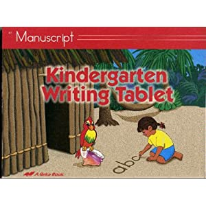 writing the kindergarten