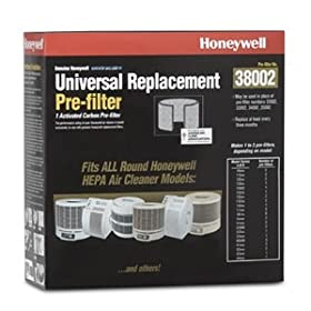 Honeywell 38002 Enviracare Universal Replacement Pre-Filter
