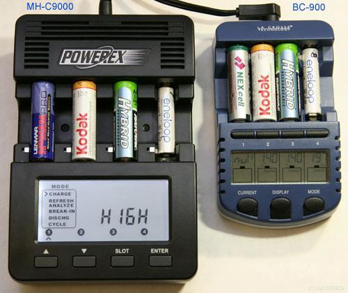 Bộ sạc và phân tích pin sạc chuyên nghiệp Maha Powerex MH-C9000