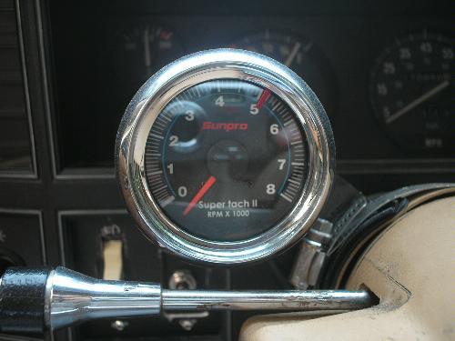 sunpro cp7908 mini tachometer ii black automotive