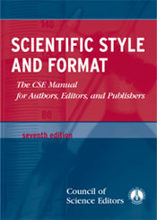 Scientific Style And Format: The CSE Manual for Authors, Editors, And Publishers (7th Ed.)