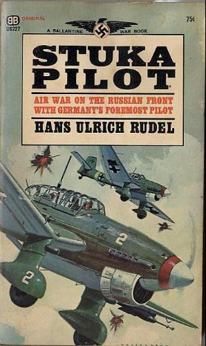 Stuka Pilot book cover