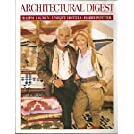 Architectural Digest - November 2002 (Ralph Lauren and wife, Ricky - Unique Hotels Around The World - On The Set of the Harry Potter Sequel, Vol. 59, No. 11) book cover