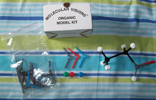 molecular visions model kit instructions