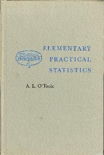 Elementary Practical Statistics