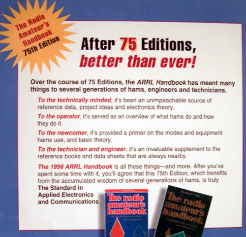The ARRL handbook for radio communications (Book )
