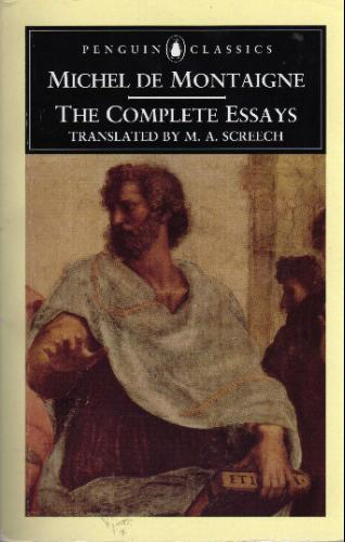 montaigne complete essays amazon Project gutenberg's the essays of montaigne, complete, by michel de montaigne this ebook is for the use of anyone anywhere at no cost and with almost no restrictions.