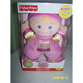 Fisher-Price Brilliant Basics My First Doll