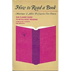 Cover of How To Read A Book