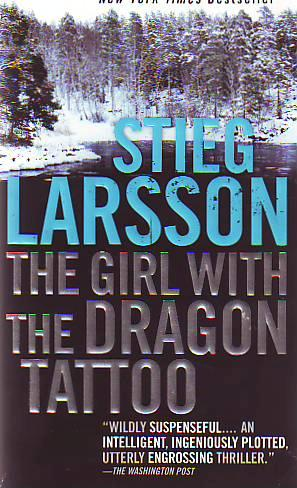 STIEG LARSSON 'THE GIRL WITH THE DRAGON TATTOO' [Mass Paperback]