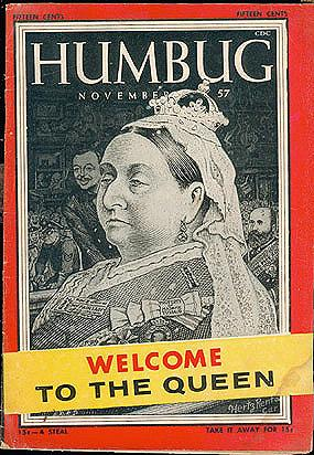 Humbug magazine, Volume 1 No. 4, Nov. 1957, Kurtzman, Harvey (editor)