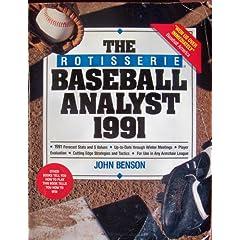Rotisserie Baseball vintage book