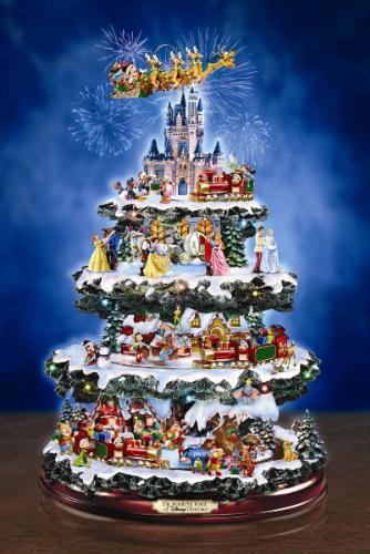 Amazon Com Disney Tabletop Christmas Tree The Wonderful