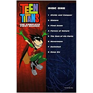 watch teen titans season 1