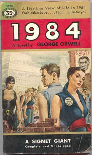 1984 Pulp Book Covers From 1954 Updated 4x