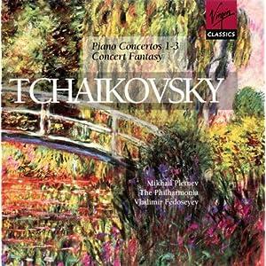 Tchaikovsky: Piano Concertos Nos. 1-3; Concert Fantasy