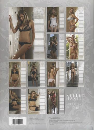 Sexy Keeley - Normal 2008 Wall Calendar