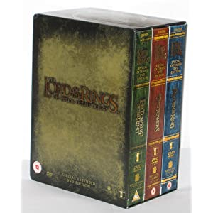 cover of LOTR DVD set