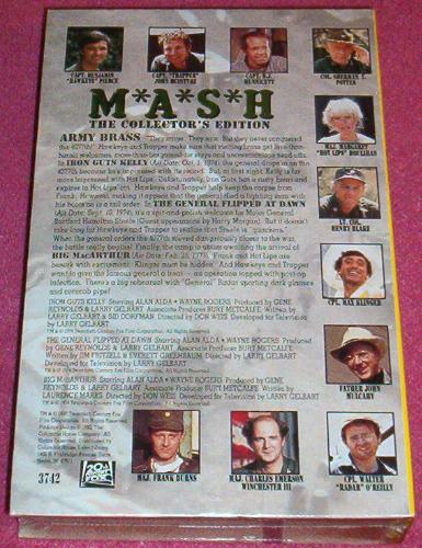 Mash, the Collector's Series: Army Brass movie