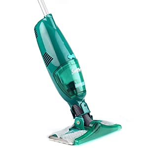 Swiffer SweeperVac Rechargeable Cordless Vacuum Starter Kit (Packaging May Vary)