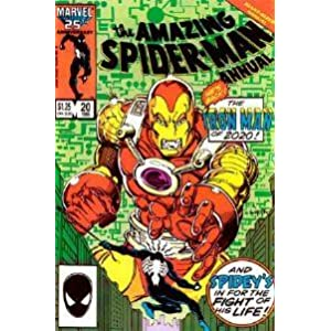 The Amazing Spiderman Annual (The Iron Man of 2020, Volume 1)