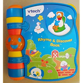 VTech Infant Learning Rhyme and Discover Book