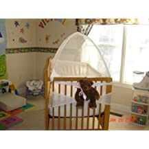 Tots In Mind Cozy Crib Tent II 1 White