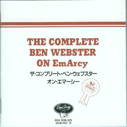 The Complete Ben Webster on EmArcy