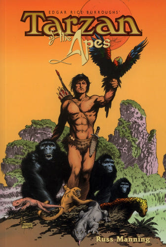 "Russ Manning's ""Tarzan"" adaptations from Dark Horse"