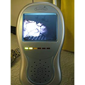 Summer Infant Deluxe Day & Night Handheld Color Video Monitor with 2.5