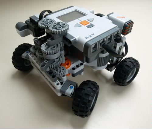 Lego Mindstorms Nxt One Kit Wonders Ten Inventions To