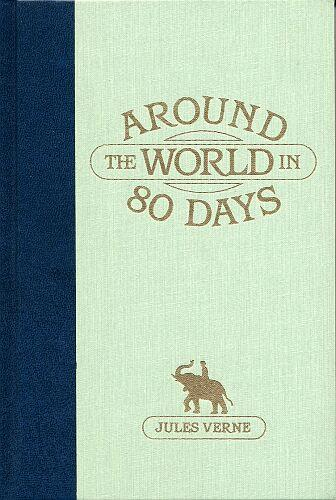 Cover of the book around the world in 80 days by jules verne